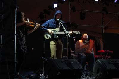 Timber Timbre at the Vancouver Folk Music Festival, July 16 2010. Megan Chursinoff photo