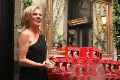 Gone Crackers proprietress Heather Nichol at Brix Restaurant, Oct 5 2010. Robyn Hanson photo