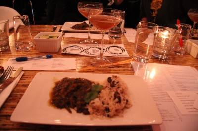 Goat curry at The Refinery, Vancouver, Nov 24 2010. Robyn Hanson photo