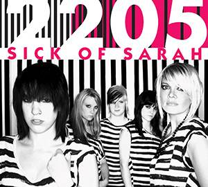 Album cover art for Sick of Sarah's 2205.