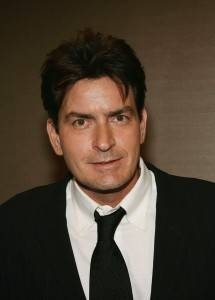 Mad man Charlie Sheen, the highest-paid actor on television.