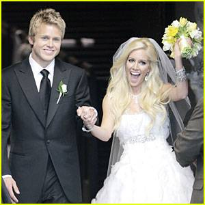Heidi Montag and Spencer Pratt. Of course.