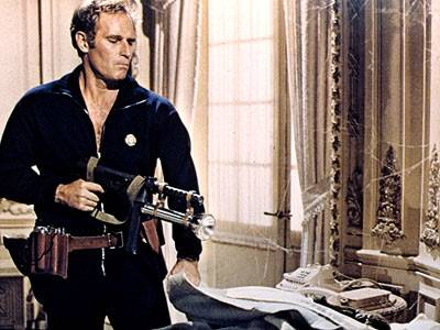 Charlton Heston in The Omega Man (1971).