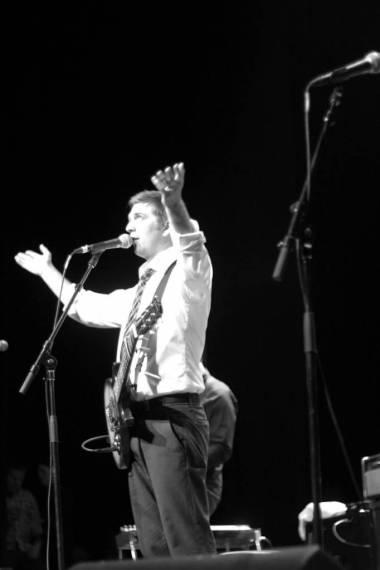John K Samson with The Weakerthans concert photo