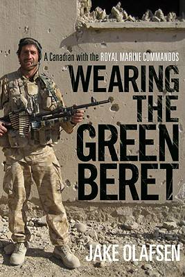 Cover of Jake Olafsen's memoir Wearing the Green Beret