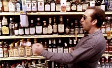 Nicolas Cage in Leaving Las Vegas