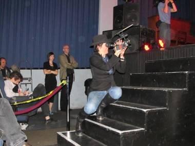 Evi Quaid at the Rio Theatre, Vancouver, April 22 2011. Rachel Fox photo
