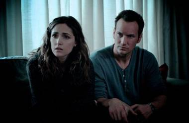 Patrick Wilson and Rose Byrne in Insidious (2010).