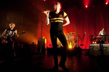 My Chemical Romance at the Centre in Vancouver for Performing Arts, April 2 2011. Ashley Tanasiychuk photo