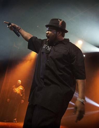 Ice Cube at the Commodore Ballroom, Vancouver, April 11 2011. Photo by Tamara Lee