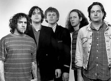 The Guided by Voices 'classic lineup', circa Bee Thousand (1994)