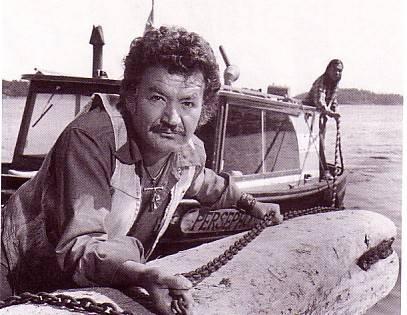 Bruno Gerussi in The Beachcombers