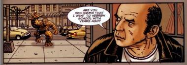 Harvey Pekar and the Thing in Strange Tales 2.