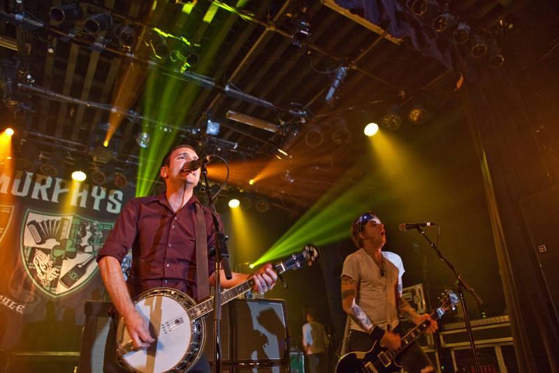 Dropkick Murphys at the Commodore Ballroom, Vancouver, June 25 2011. Graeme Foote photo