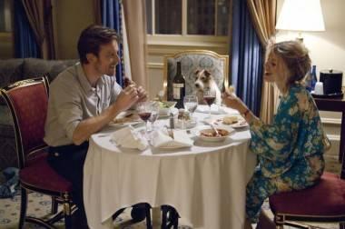 Ewan McGregor, Cosmo and Melanie Laurent in Beginners (2011).