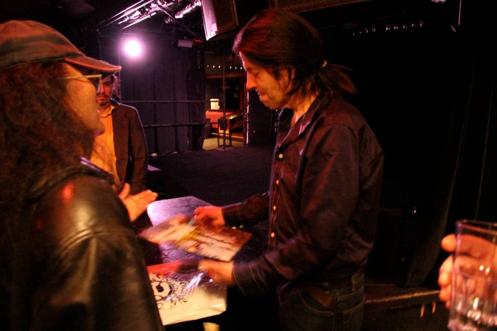 Grant Hart at the Biltmore Cabaret, Vancouver, June 15 2011. Robyn Hanson photo