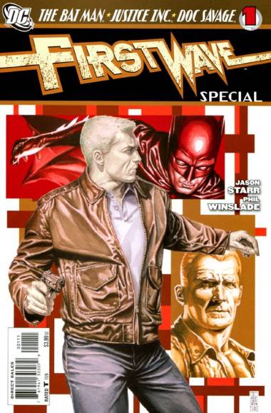 Cover of DC Comics' First Wave