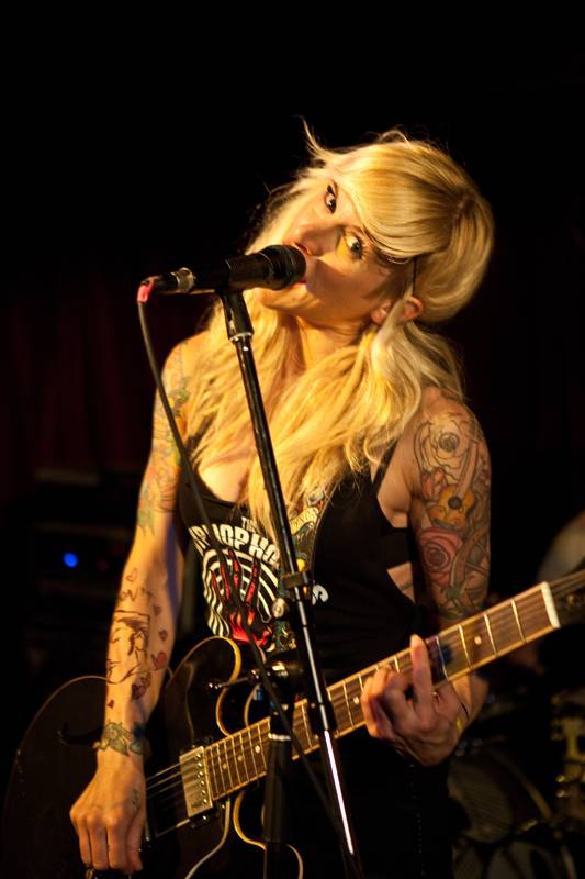 Sarah Blackwood with The Creepshow at the Media Club Vancouver