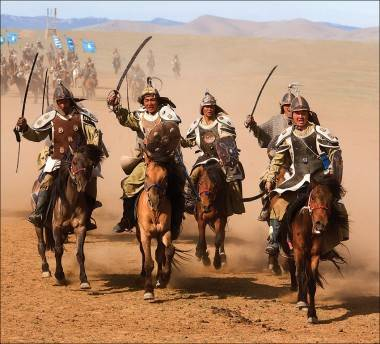 Mongol: movie still