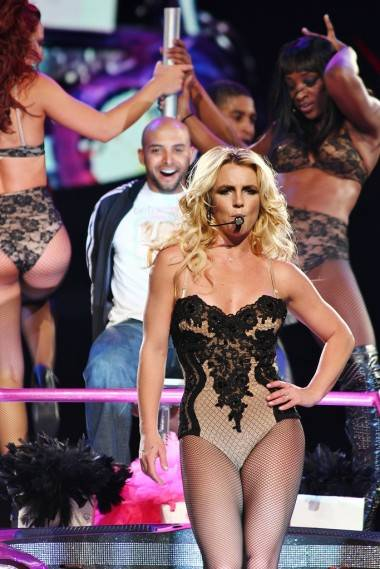 Britney Spears at Rogers Arena, Vancouver, July 1 2011. Ryan West photo.