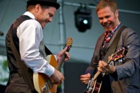 Josh Ritter and the Royal City Band at the Vancouver Folk Music Festival July 17 2011. Christopher Edmonstone photo