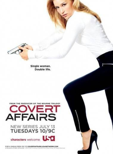 Poster for the USA Network's Covert Affairs.
