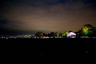 Beautiful evening at Vancouver Folk Music Festival, Vancouver, June 15 2011. Christopher Edmonstone photo