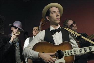 Pokey Lafarge and the South City Three.