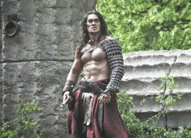 Jason Momoa in Conan the Barbarian (2011).