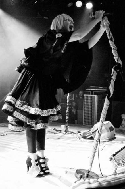 Sia at the Commodore Ballroom, Vancouver Aug 19 2011. Ashley Tanasiychuk photo