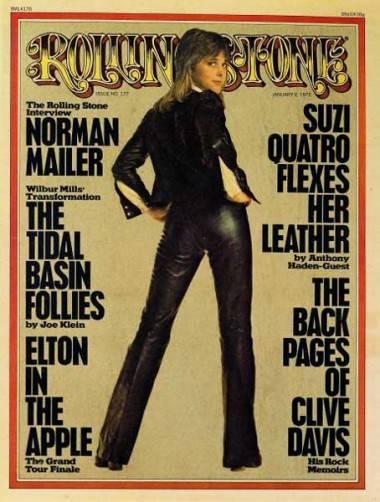 Suzi Quatro images Rolling Stone cover