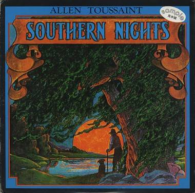 Allen Toussaint album cover Southern Nights
