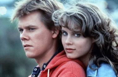 Kevin Bacon and Lori Singer in Footloose (1984).