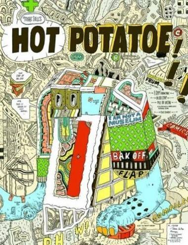 Marc Bell art Hot Potatoe cover