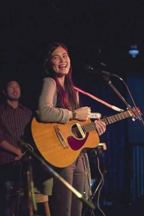 Priscilla Ahn at the Media Club, Vancouver, Oct 14 2011