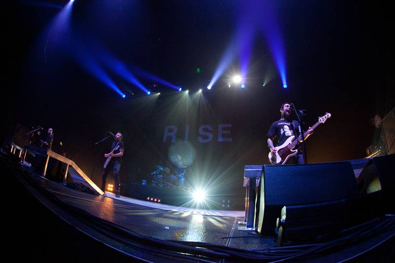 Rise Against at Pacific Coliseum Vancouver