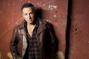 Bruce Springsteen Wrecking Ball publicity photo