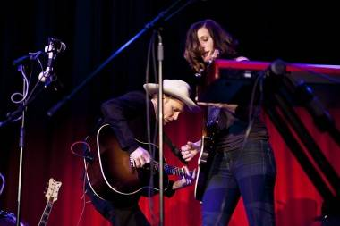 Whitehorse band with Luke Doucet and Melissa McClelland photo