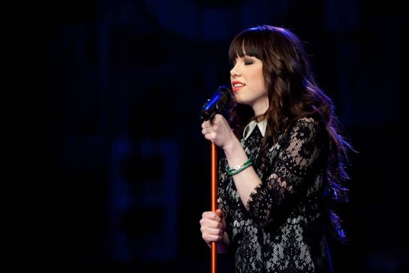 Carly Rae Jepsen live at the Vogue Theatre
