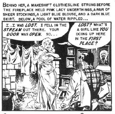 Wally Wood art Came the Dawn