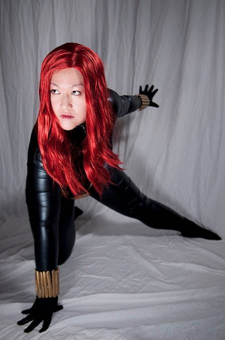 Jaime Q as Black Widow cosplay photo