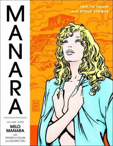 Manara Library Vol 3 cover image.