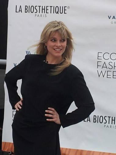 Myriam Laroche at Eco-Fashion Week Vancouver