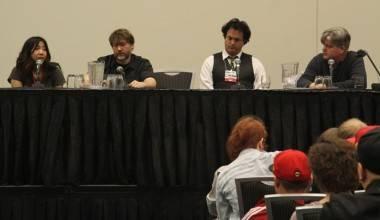 Nina Matsumoto, James Lloyd, John Delaney and Ian Boothby photo