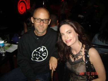 Alex Lombard and Moby