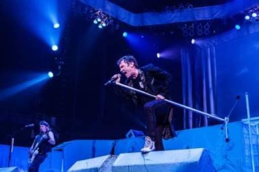 Iron Maiden concert photo