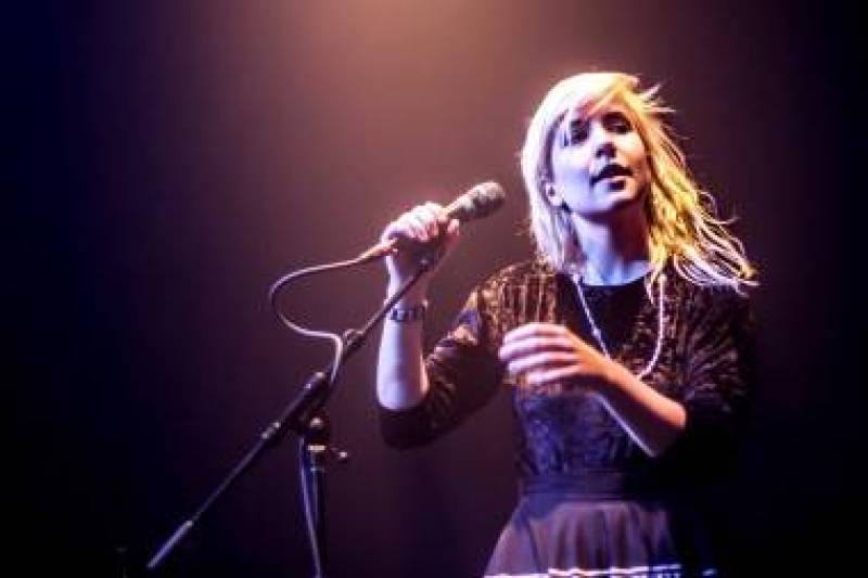 Katie Stelmanis with Austra at Venue