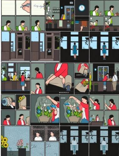 Building Stories interior art by Chris Ware