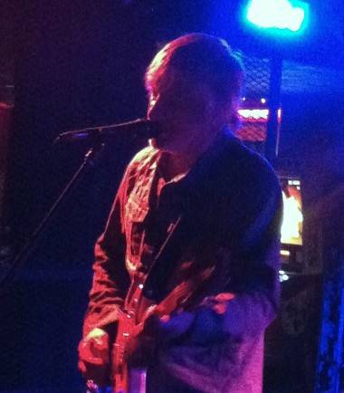 Lee Ranaldo at the Biltmore Cabaret. Ria Nevada photo.