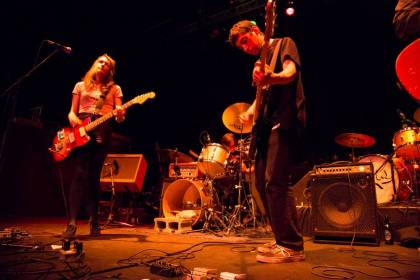 Speedy Ortiz at the Rickshaw Theatre Vancouver